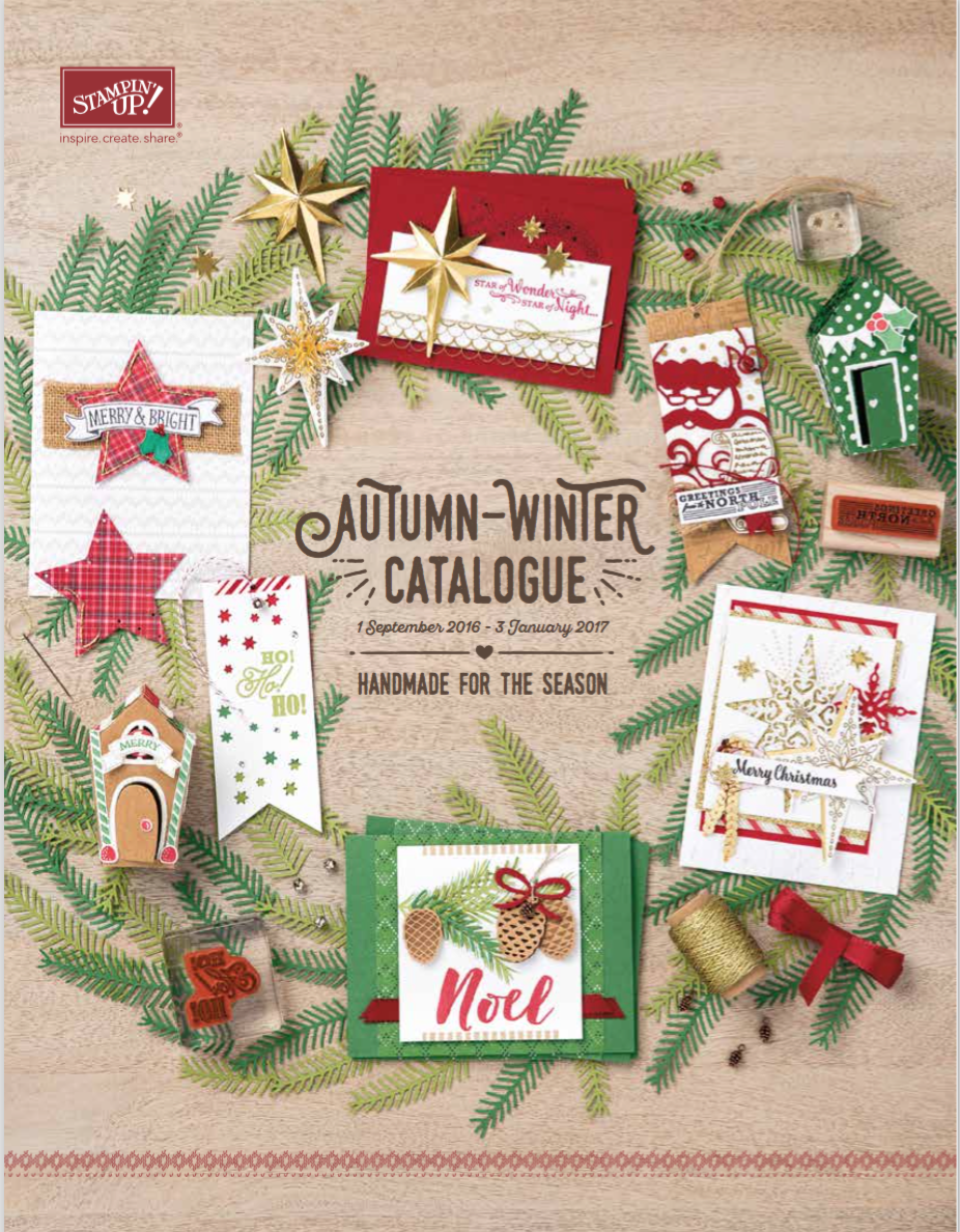 Stampin' Up! Herfst/winter catalogus 2016