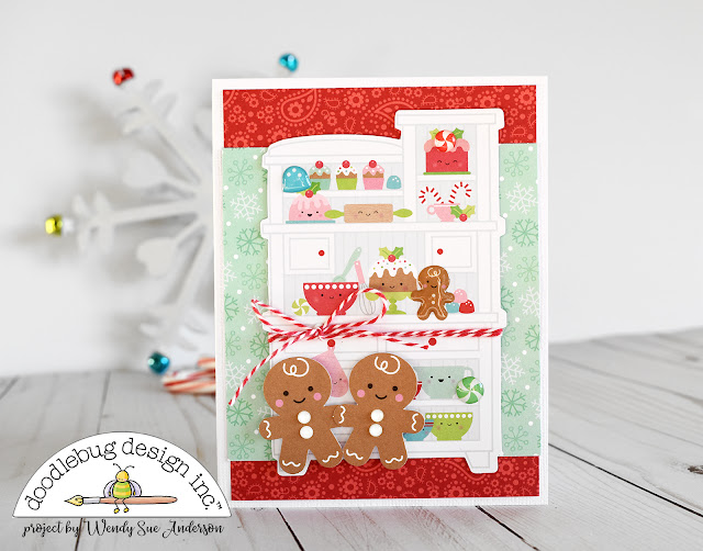 """Mix it Up Challenge"" Christmas Cards by @WendySue for @DoodlebugDesign"