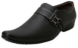 Anshul Fashion Men's Black Formal Shoes For Rs 289 (Mrp 1299) at Amazon deal by rainingdeal.in