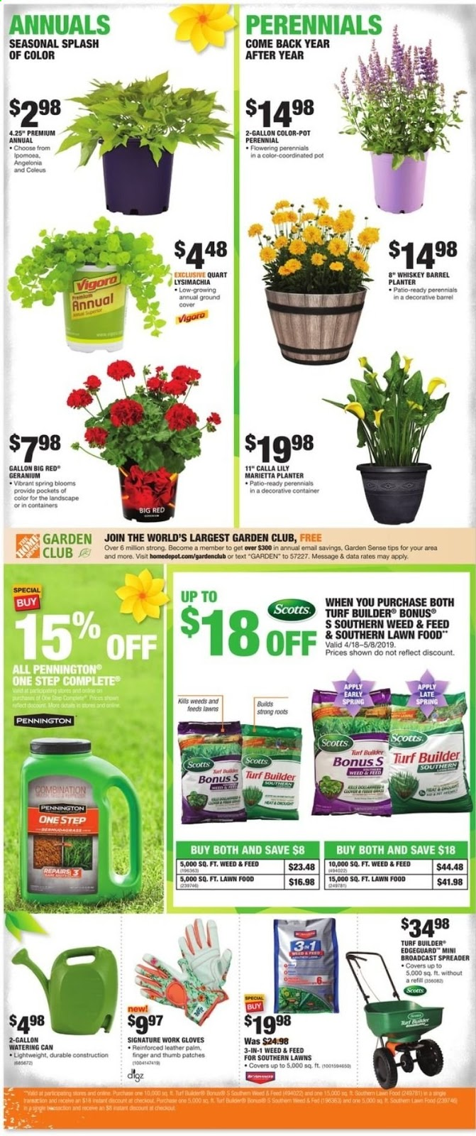 Home Depot Weekly Ad April 18 - 24, 2019 - Coupons and Deals