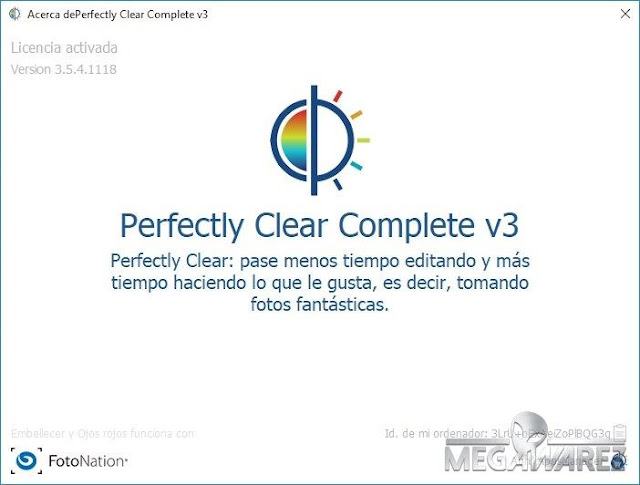 Athentech Perfectly Clear Complete imagenes
