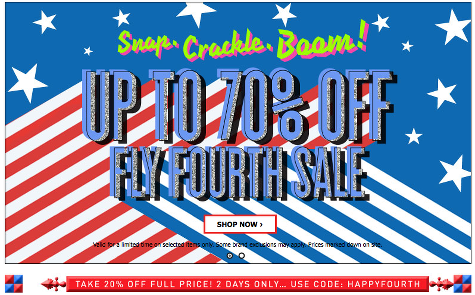 Affordable Shops With Fourth of July Sales