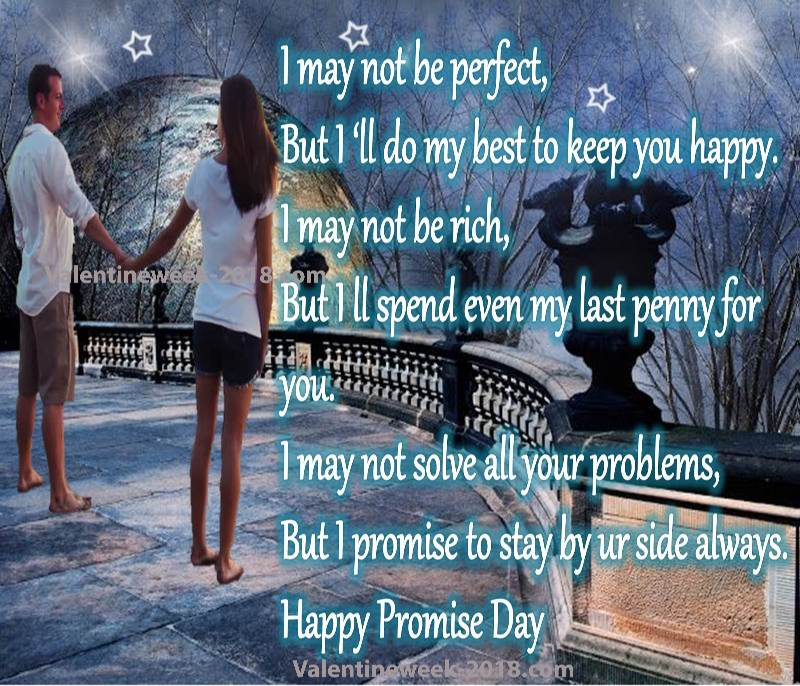 Happy promise day images for friends 2018