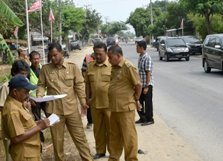 Aceh Timur Bangun Jalan Dua Jalur Lintas Kota Idi