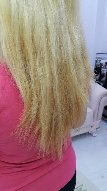 boyalı saçı açma