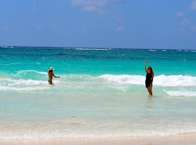 paradise beach near tulum