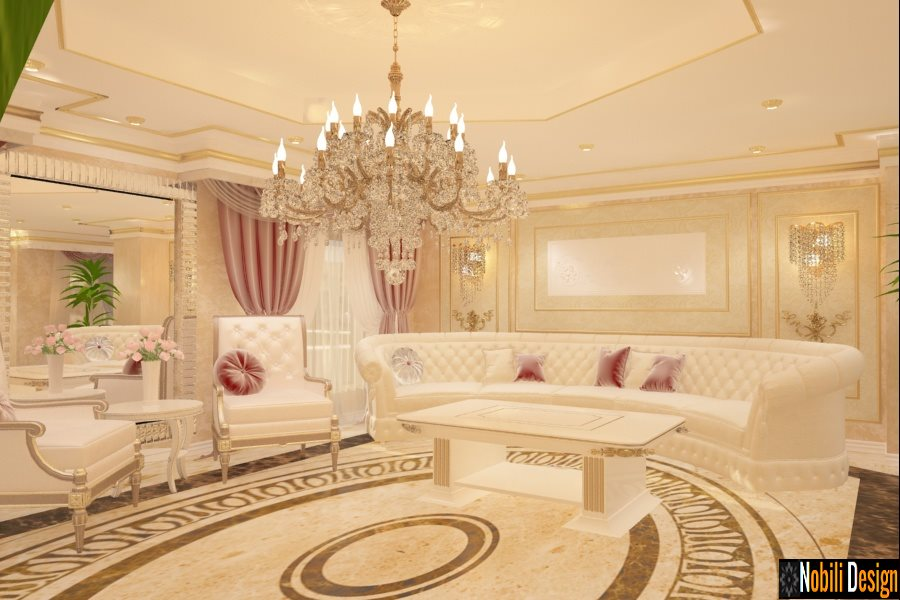 Amenajare living clasic casa Bucuresti | Nobili Interior Design.