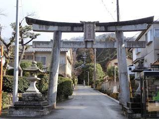 赤山禅院:鳥居