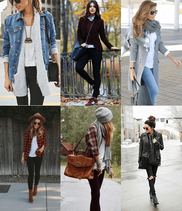 Looks de inverno para se inspirar