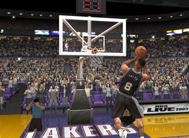 NBA Live 2003 PC Gameplay