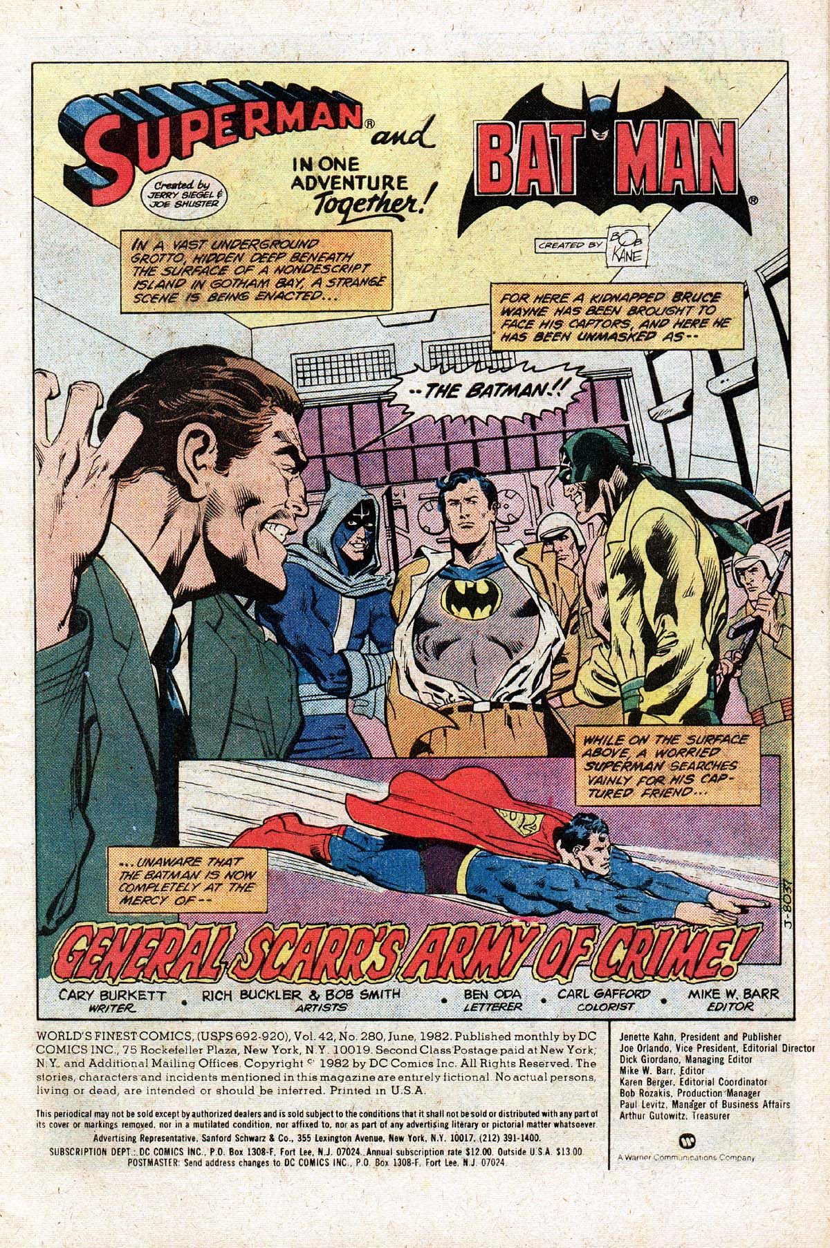 Read online World's Finest Comics comic -  Issue #280 - 2