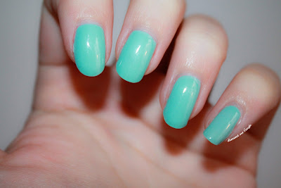 "Swatch of ""Mint Candy Apple"" by Essie"