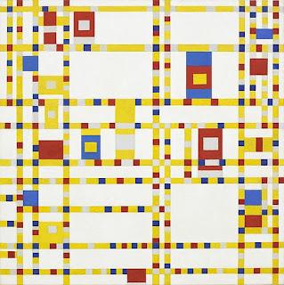 モンドリアン、ブロードウェイ ブギウギ、MoMA