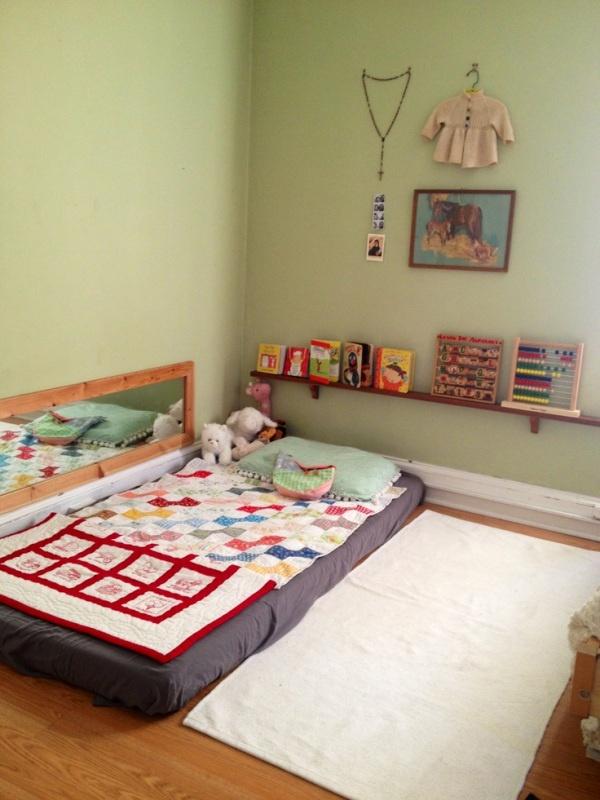 Soy profesora y m s camas montessori for Cuartos montessori para ninas