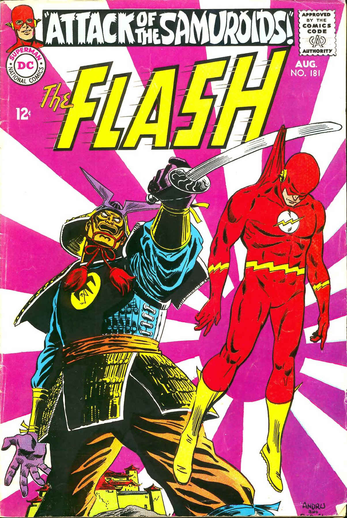 The Flash (1959) 181 Page 1