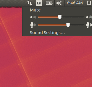 Ubuntu16.04 LTS Microphone in System tray