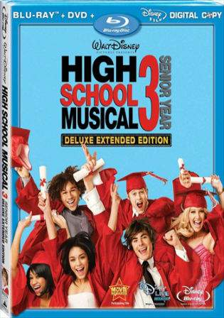 High School Musical 3 (2008) BluRay Hindi 350MB Dual Audio 480p Watch Online Full Movie Download bolly4u