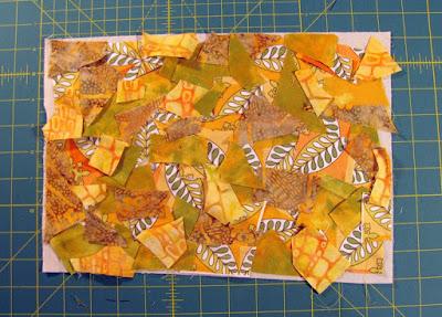 mixed media fabric art 3