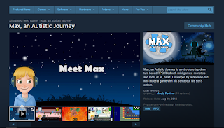 Screen capture of 'Max, An Amazing Journey'