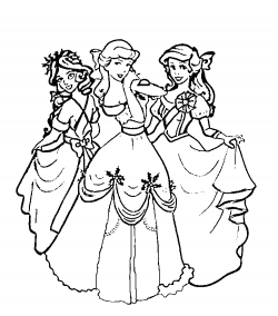disney princess coloring pages online   Disney Princess Coloring Pages Ideas