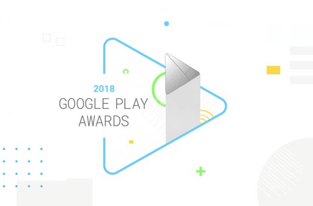 Les nominés aux prix Google Play pour 2018 annoncés