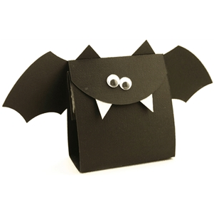 How to Die Cut Halloween Bat Treat Bags