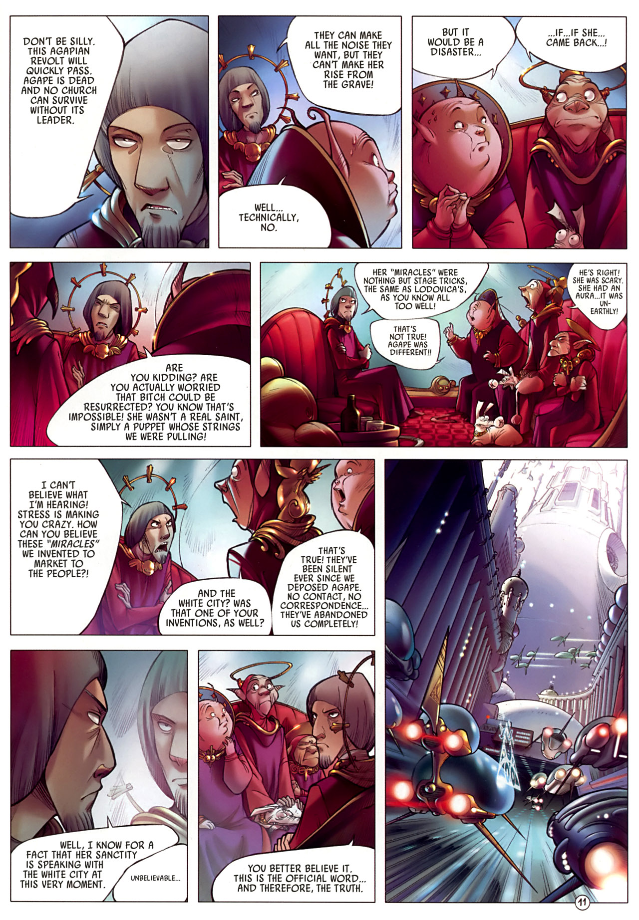 Read online Sky Doll comic -  Issue #3 - 15