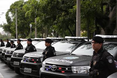 Governo entrega 83 novas viaturas e reforça combate à violência no Estado