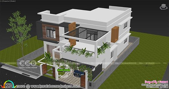 3 BHK, 30 lakhs estimated cost double storied home