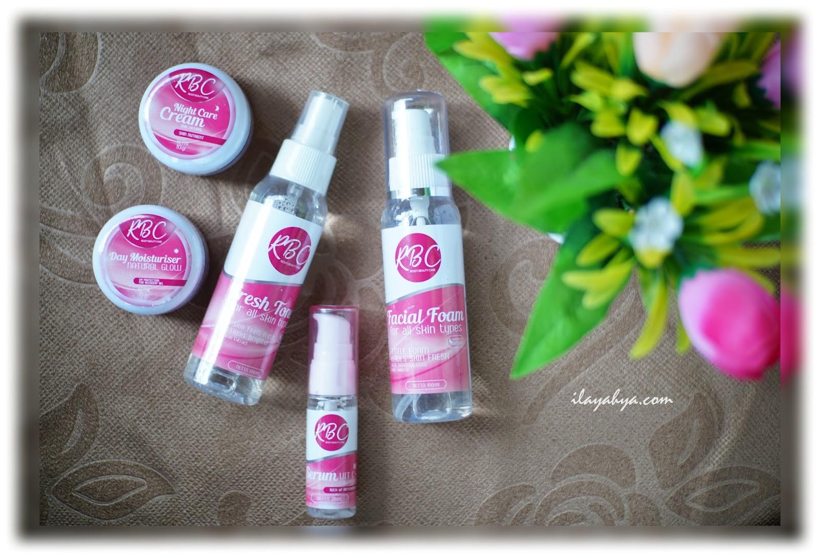 Review Skin Care Pencerah Wajah, RBC [Resti Beauty Care]