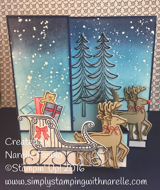 Santa's Sleigh - Simply Stamping with Narelle - available here - http://www3.stampinup.com/ECWeb/ProductDetails.aspx?productID=143499&dbwsdemoid=4008228