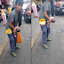 Unexpectedly this woman gives birth while standing in busy street