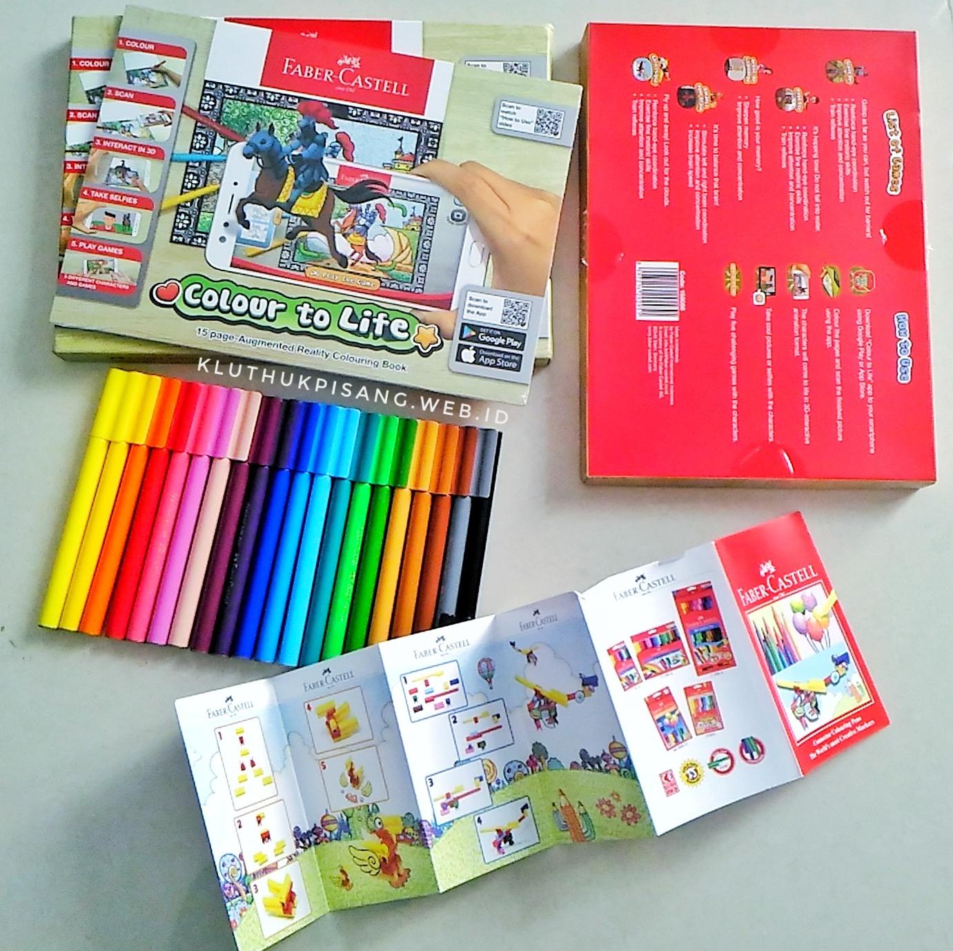 Faber Castell Colour To Life Perpaduan Mewarnai Dan Teknologi Game