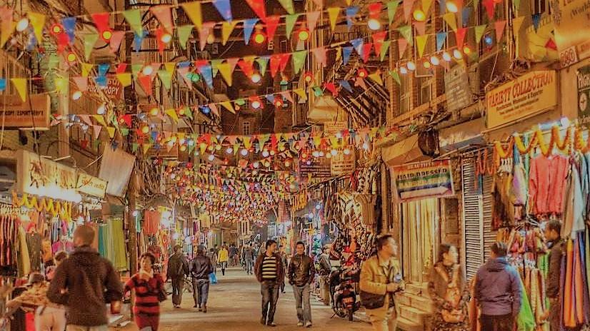 Image result for streets of thamel