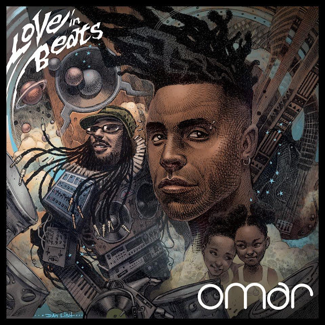 Omar - Love in Beats | Atomlabor Platten Rezension - Album Tipp