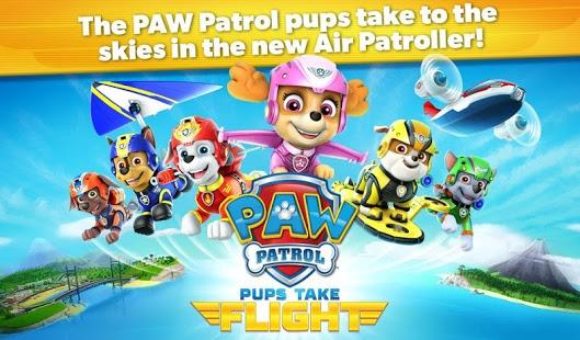 PAW Patrol Pups Take Flight