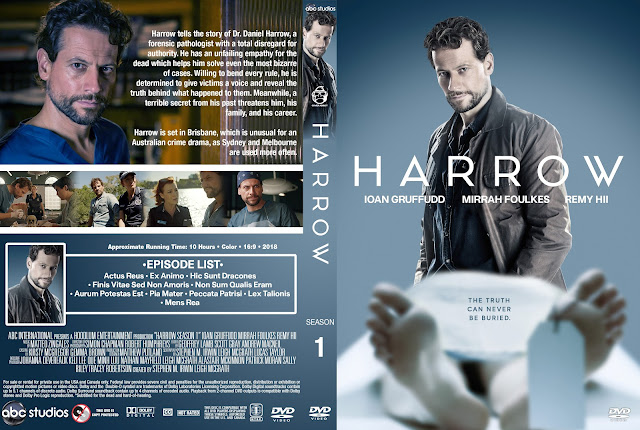 Harrow Season 1 DVD Cover