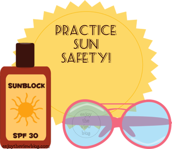 Sunless Tanning Tips Series: Part 1 - Sun Safety - tips on how to keep your skin safe and still enjoy the sun!