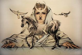Resultado de imagem para deusa rhiannon