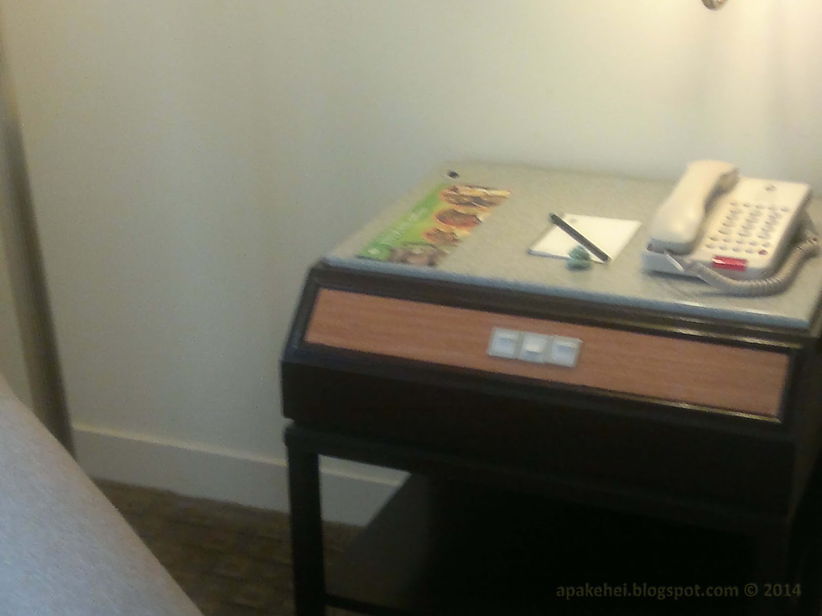 Hotel Istana - phone desk