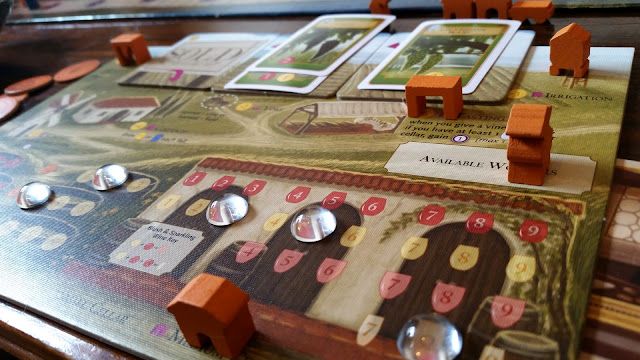 Viticulture wine making board game review