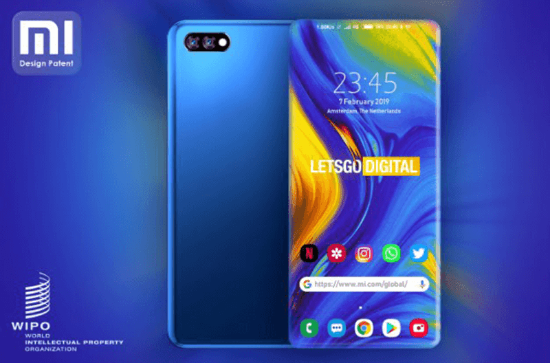 Xiaomi patents a bezel-less phone with four sided edge display