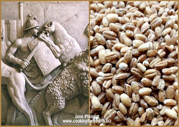 gladiators high carb diets like barley porridge