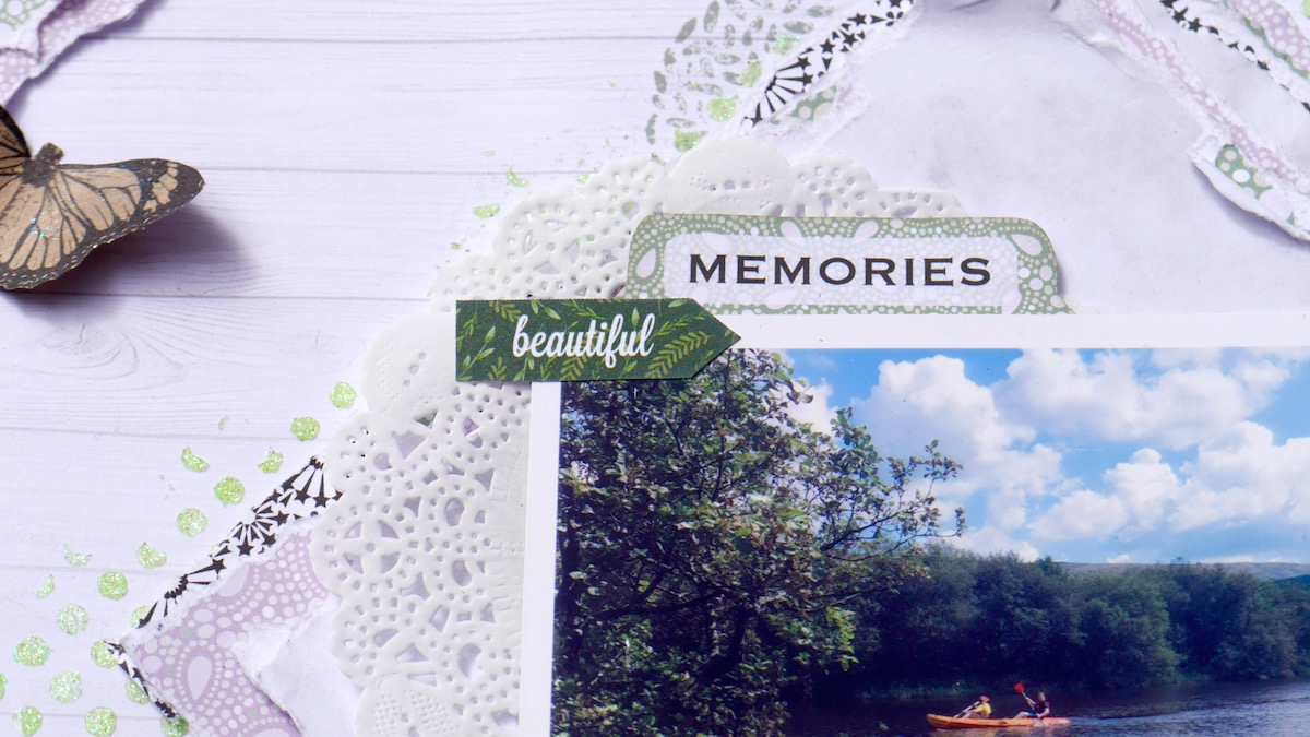 One Of My Favourite Parts From The New Paper Lines Is The Cut Apart Sheet  And Here You Can See 2 Of The Elements   Memories And Beautiful.