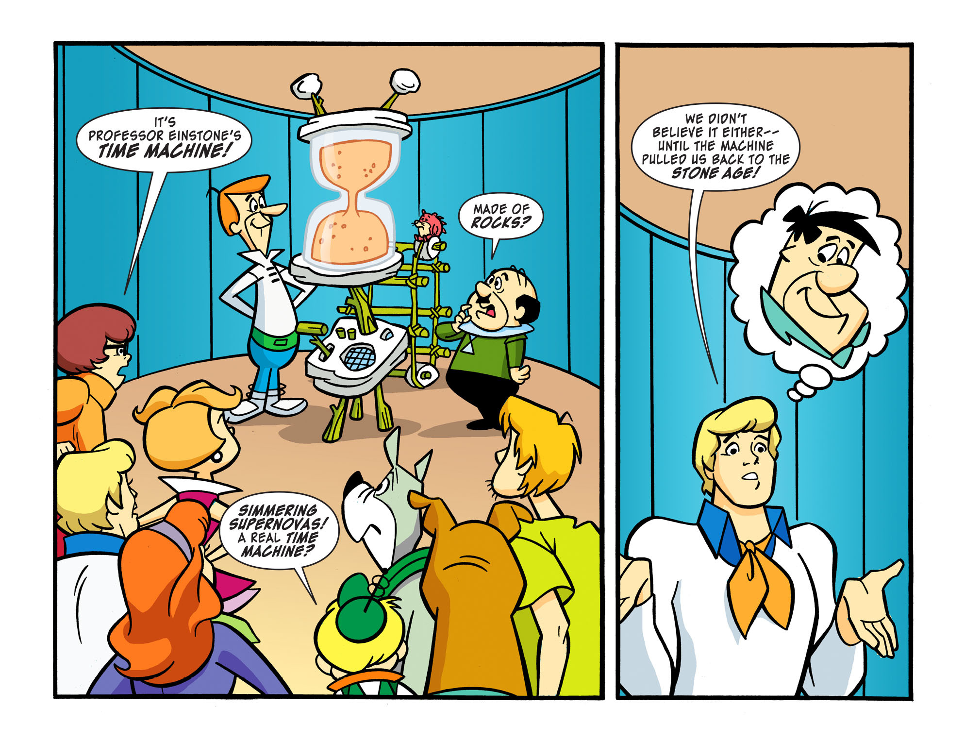 Read online Scooby-Doo! Team-Up comic -  Issue #16 - 18