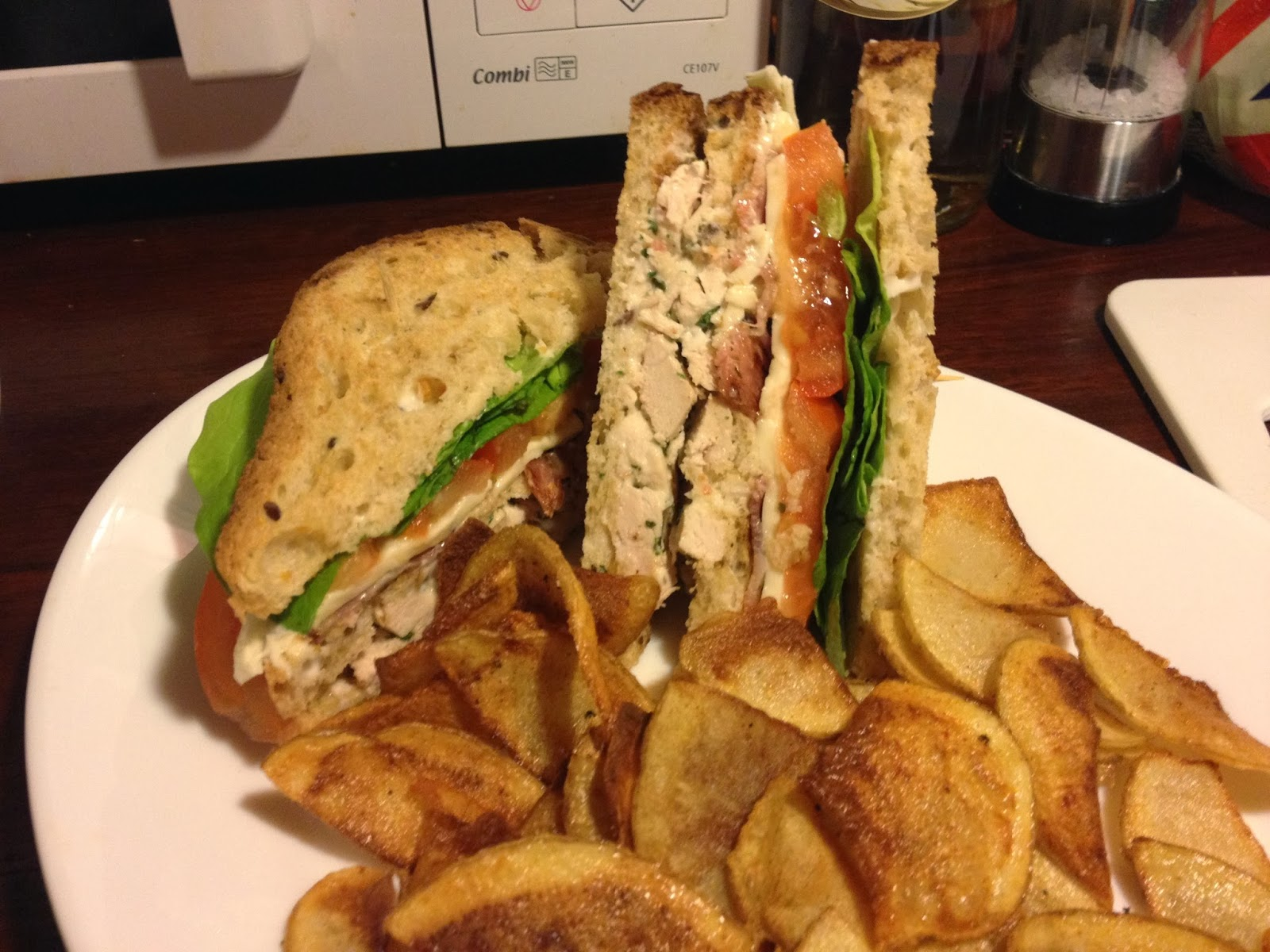 gluten free club sandwich