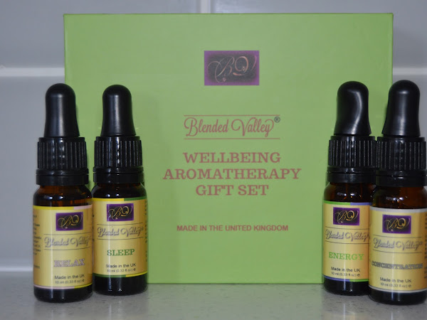 Closed Giveaway | Blended Valley Wellbeing Aromatherapy Gift Set