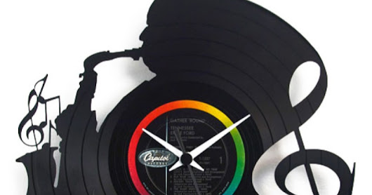 Vinyl Clock | Chic, Italian clocks - an elegant touch to your home, office, bar or restaurant.