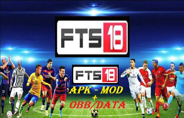 Download FTS 18 - First Touch Soccer 2018 Apk Mod Data Game