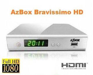 nova atualização azbox bravissimo twin hd